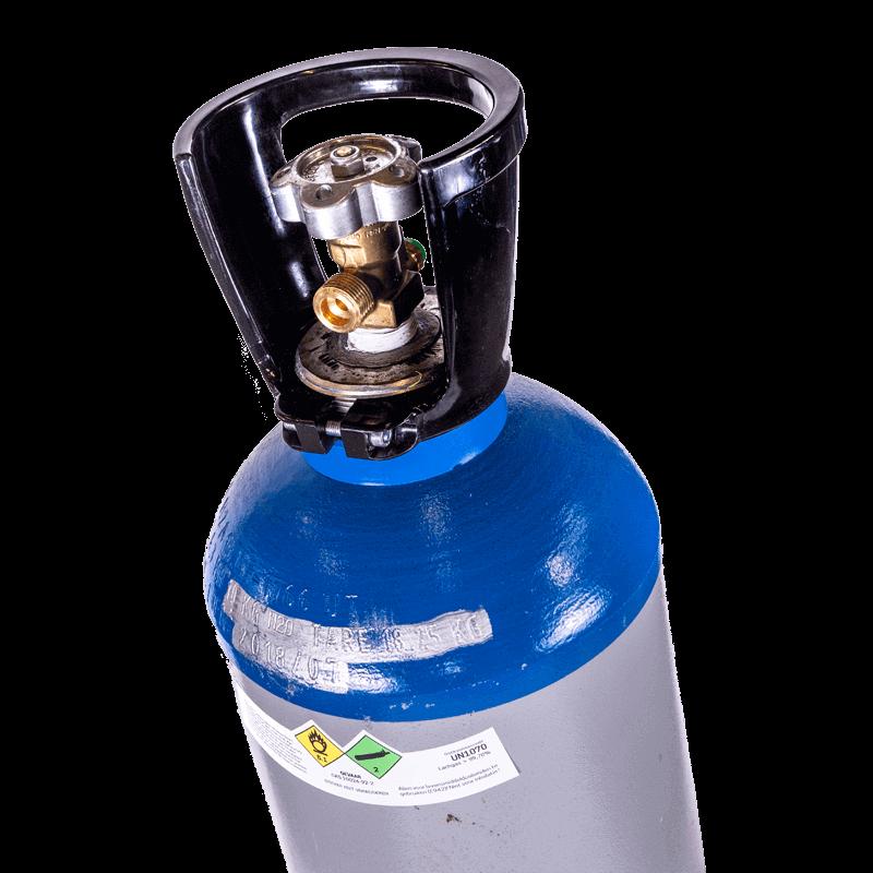 Serbatoio di protossido di azoto 4 kg